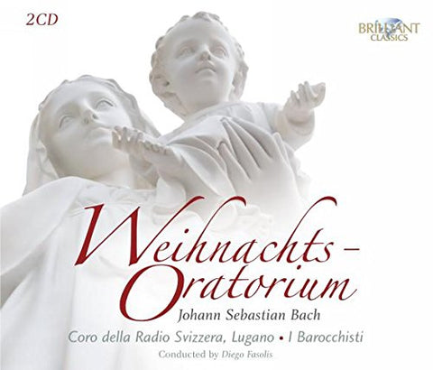 Bach: Christmas Oratorio Double CD (CD) cover image