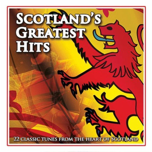 Scotlands Greatest Hits - Various Artists (CD)