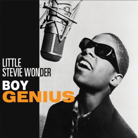 Little Stevie Wonder - Boy Genius.CoverImg
