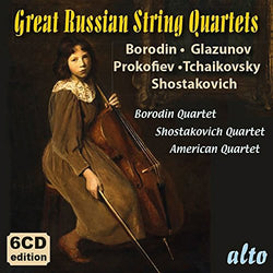 Great Russian String Quartets (Borodin, Glazunov, Prokofiev) (CD)