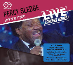 Percy Sledge Live in Kentucky (CD)
