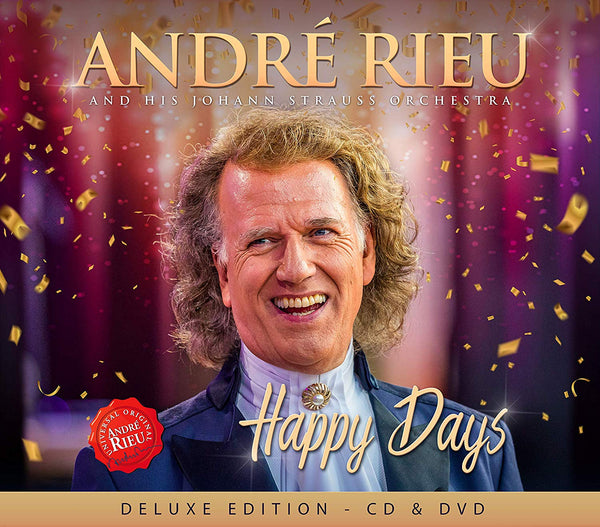 Andre Rieu Happy Days (CD+DVD)