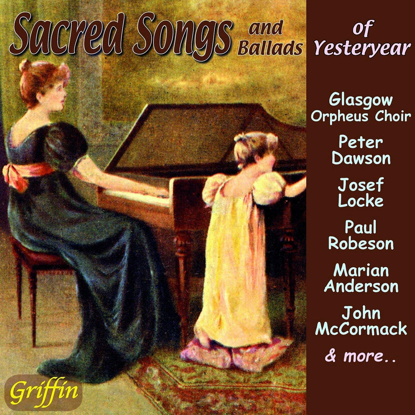 Sacred Songs and Ballads of Yesteryear (CD)