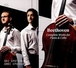 Beethoven Complete Works For Piano & Cello - Ori Epstein; Omri Epstein (CD)