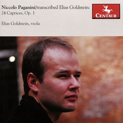 Paganini: 24 Caprices, Op. 1 - Elias Goldstein (CD)