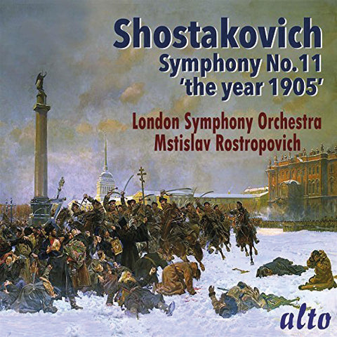 Shostakovich Symphony 11 - The Year 1905 (CD)