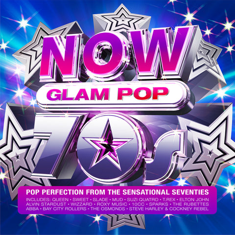 NOW 70s Glam Pop (CD)