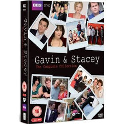 Gavin And Stacey - Series 1-3 + 2008 Christmas Special  (DVD) cover image