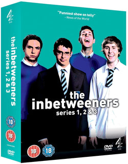 The Inbetweeners: Series 1-3 (DVD)