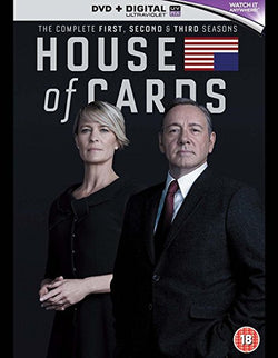 House of Cards - Season 1-3  (DVD).CoverIMG