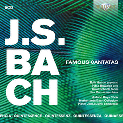 Various Artists - J.S. BACH Famous Canatas