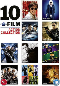 Universal 10-Film Action Collection  (DVD)