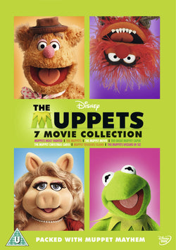 The Muppets Bumper 7-Movie (The Muppets 2011/The Muppets Most Wanted/ Muppet Movie/Treasure Island / Wizard Of Oz/ Great Caper/ Christmas Carol)