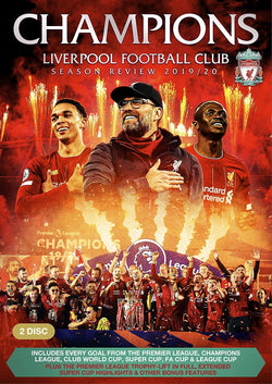 Champions. Liverpool Football Club Season Review 2019-20 (DVD)
