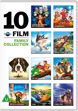 10 Film Family Collection  (DVD)