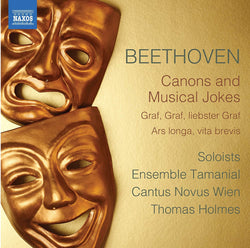 Ludwig van Beethoven: Canons and Musical Jokes  (CD)
