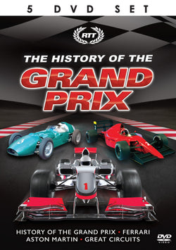 The History Of The Grand Prix (DVD)