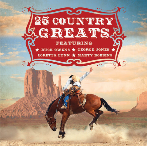 25 Country Greats - Various Artists (CD).CoverIMG