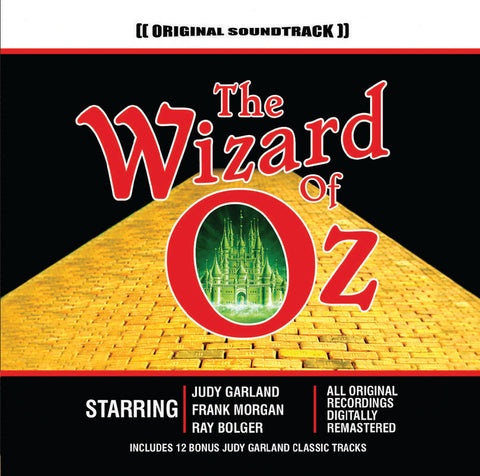 The Wizard Of Oz - Original Soundtrack (CD) cover image