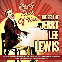 Great Balls of Fire; The Best of - Jerry Lee Lewis (CD).CoverIMG