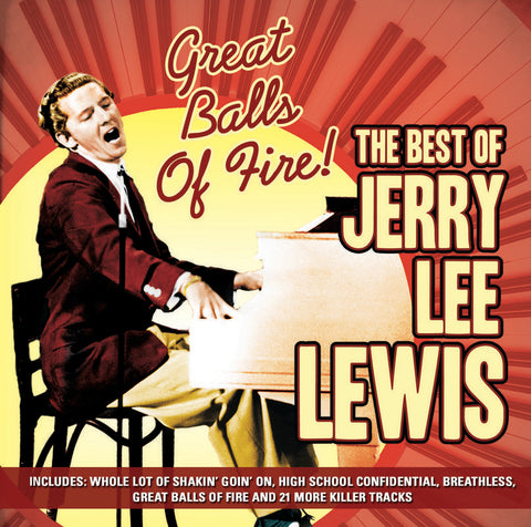 Great Balls of Fire; The Best of - Jerry Lee Lewis (CD) – SimplyHE