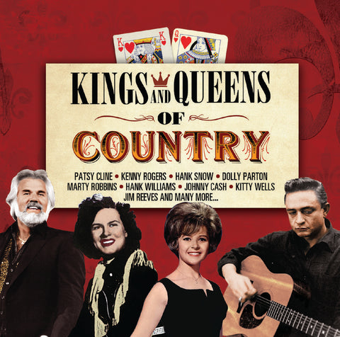 Kings And Queens Of Country - Various Artists (CD).CoverIMG