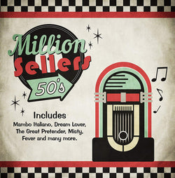Million Sellers 50's - 25 Greatest Hits of the 1950s (CD)