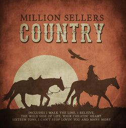 Million Sellers Country (CD)