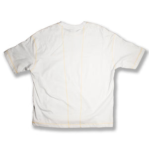 T-shirt GameOver white gold - Game Over Shop