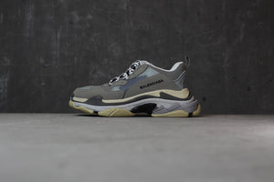 Balenciaga Triple S Grey White - Game Over Shop