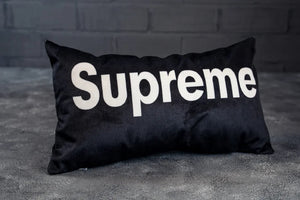 Подушка SUPREME Black - Game Over Shop