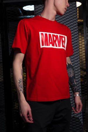 Футболка MARVEL Red - Game Over Shop