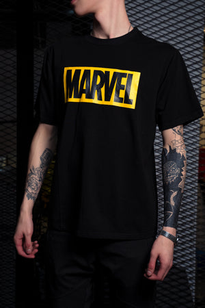 Футболка MARVEL Black - Game Over Shop