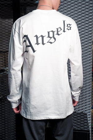 Лонгслив Palm Angels White - Game Over Shop