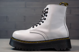 Dr. Martens Winter Platform 2 White - Game Over Shop