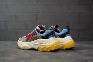 Balenciga Triple S Grey Blue Red - Game Over Shop