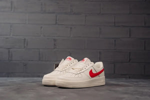 Nike Air Force Low Red White - Game Over Shop