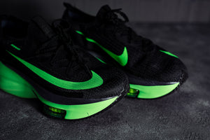 Nike Air Zoom Alphafly Black Electric Green
