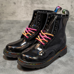 Dr. Martens 1460 Black Purple - Game Over Shop