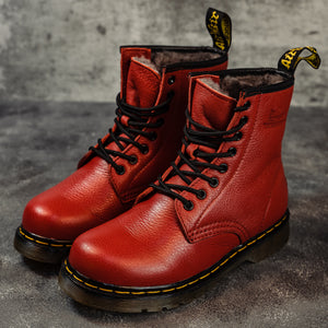 Dr.Martens Winter RED - Game Over Shop