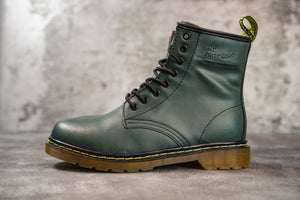 Dr. Martens 1460 Winter Fur  Green - Game Over Shop