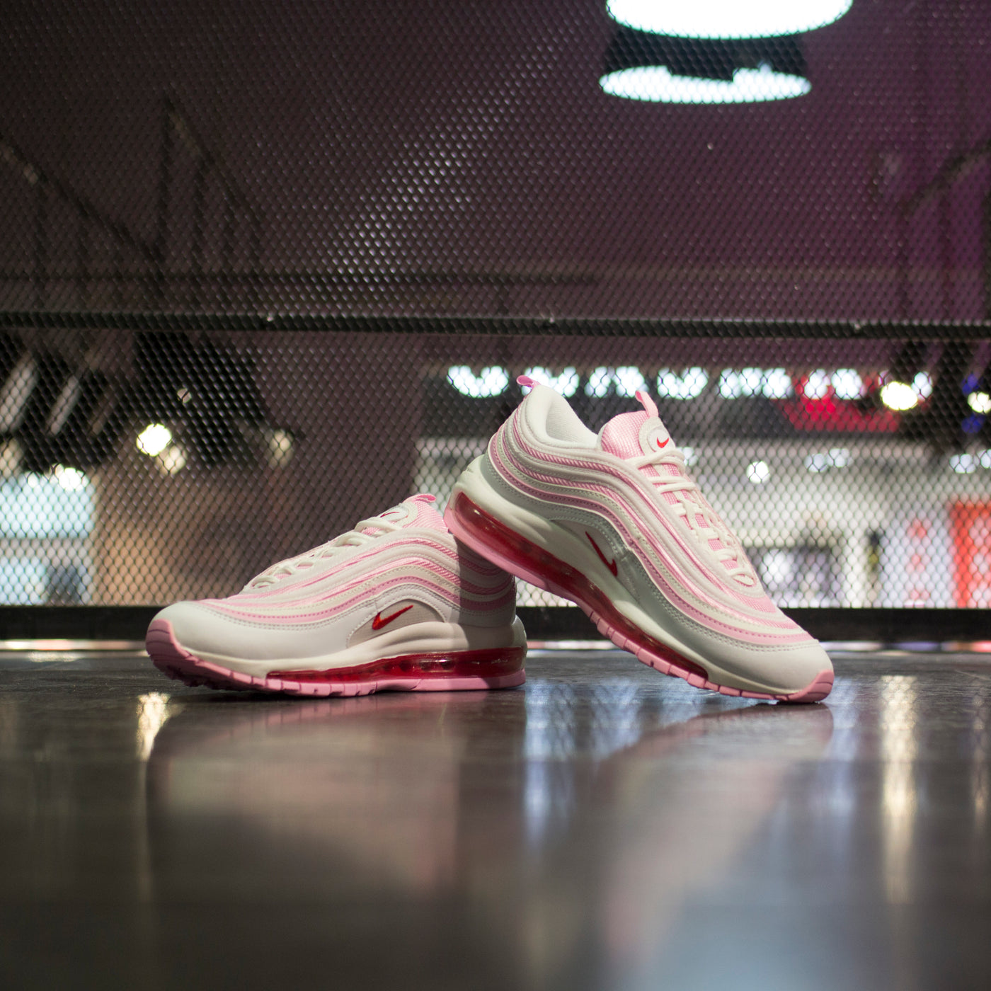 Faaqidaad : Pink and white air max 97 valentines day
