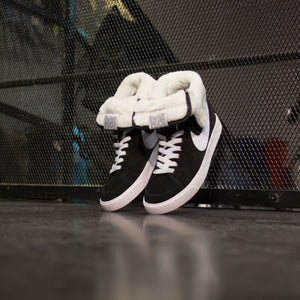 Nike  Blazer High Roll Suede Black Dusty Grey - Game Over Shop