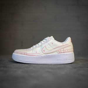 Nike Air Force 1 Low Schematic White