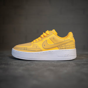 Nike Air Force 1 Low Schematic Orange