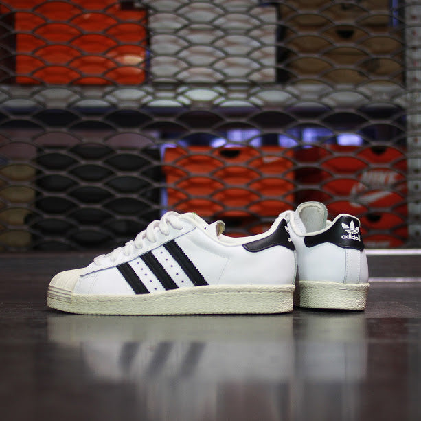 Adidas Originals Superstar 80s Classic White Black Chalk