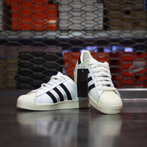 Adidas Originals Superstar 80s Classic White Black Chalk - Game Over Shop
