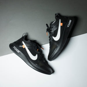 "Nilke Zoom Fly ""Off-White"" Black - Game Over Shop"