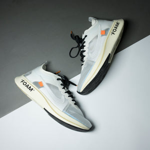 "Nike Zoom Fly ""Off-White"" White - Game Over Shop"