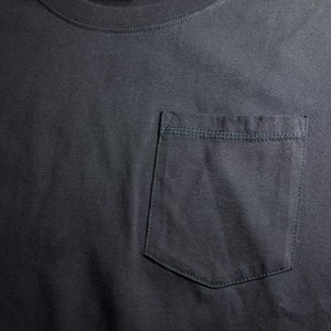 T-shirt with pocket GameOver black - Game Over Shop